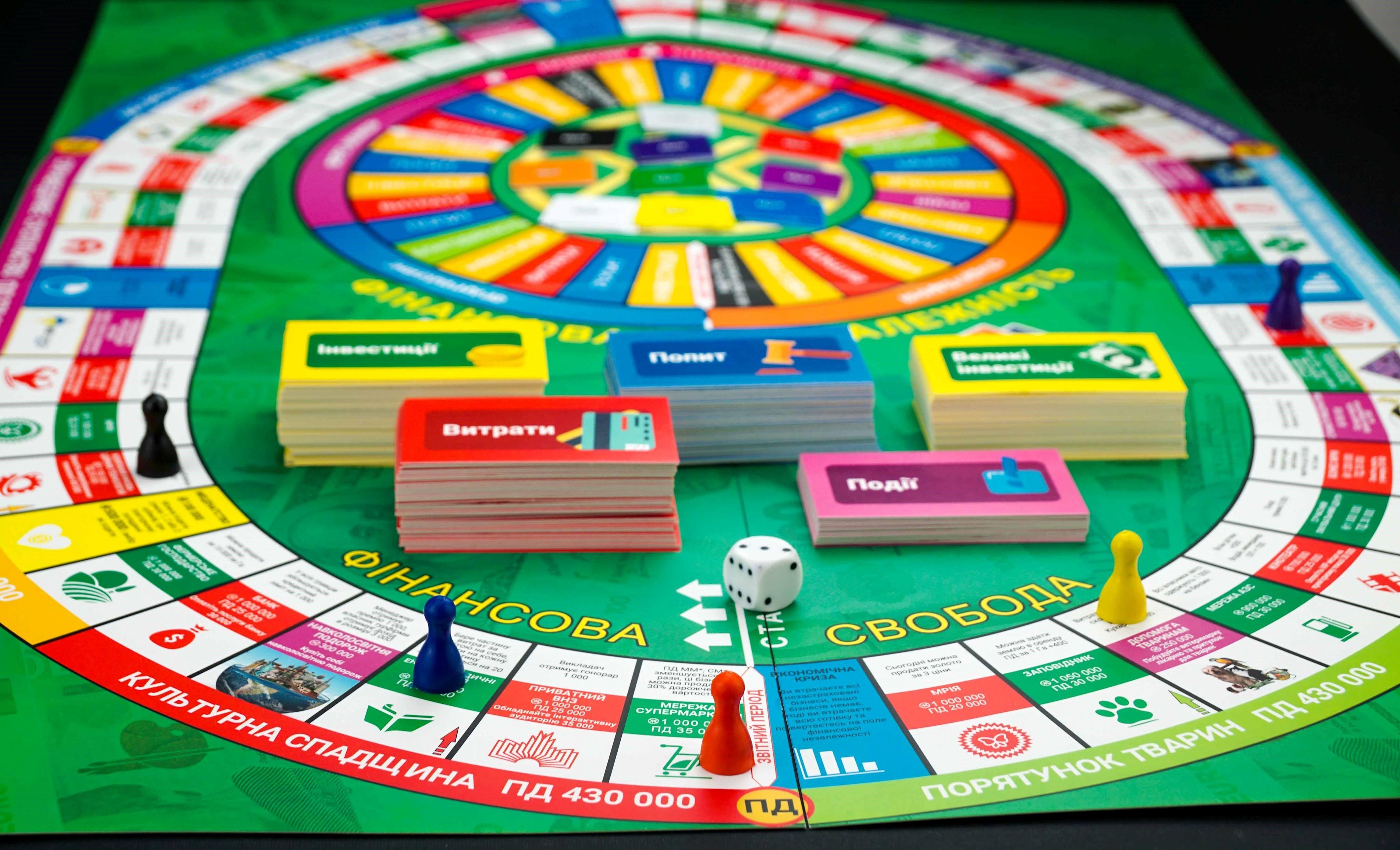Фінансово-економічна гра Життєвий Капітал - Сімейний Бюджет