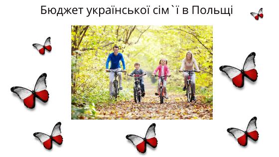 Бюджет української сім`ї в Польщі